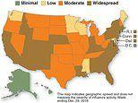 7 million Americans have the flu - but it is MUCH less deadly than last year, CDC reveals
