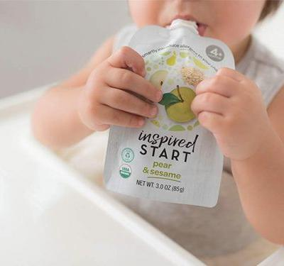 This new fruit puree for babies introduces allergens safely - reducing their risk of developing severe food allergies in the future