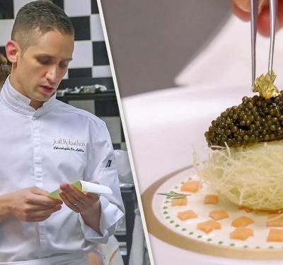 Watch: The Master Chef Striving For Perfection at Joël Robuchon's Las Vegas Crown Jewel