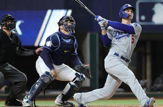 Corey Seager crushes eighth homer of the postseason, Dodgers lead Rays 2-0 in Game 4