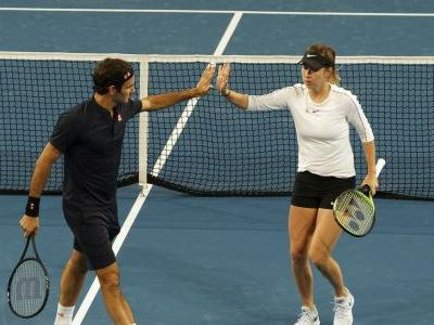 Federer wins Hopman Cup with Switzerland for record 3rd time