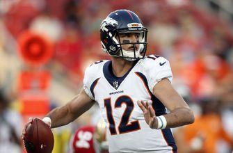 Broncos turning to Paxton Lynch at quarterback