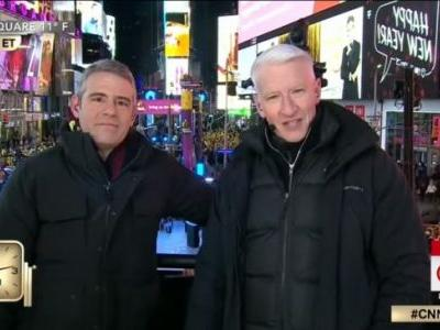 Anderson Cooper and Andy Cohen Deliver CNN's Most-Watched New Year's Eve Special Ever