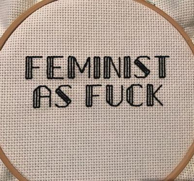 Feminist Needlepoint Is Exactly What Your 2018 Needs