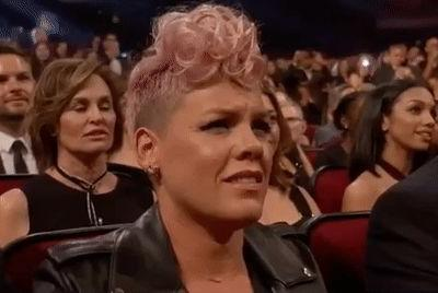 P!nk Wasn't Shading Christina Aguilera, She Just Has Resting Annoyed Face Like Me
