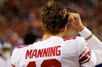 Shannon Sharpe reacts to benching Eli Manning 'The Giants owe him nothing'