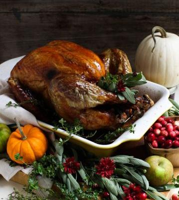 Uncomplicated Dry-Brined Roast Turkey