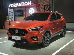 Auto Expo 2020 MG ZS Petrol Unveiled Engines Features Specifications Expected Launch