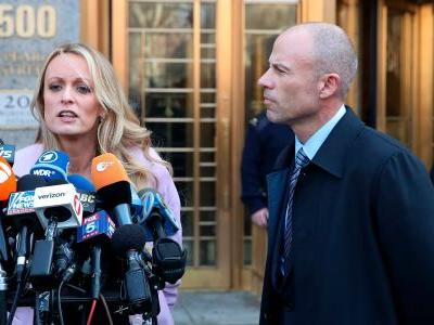 He 'acted like he is above the law. That ends now': Stormy Daniels put Michael Cohen on notice outside a Manhattan courtroom