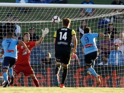 Adam le Fondre penalty seals Sydney FC win over Wellington Phoenix