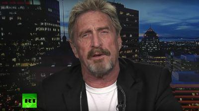 'Not the Russians': John McAfee talks hacking allegations, cybersecurity with Larry King