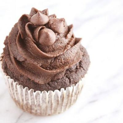 Vegan Double Chocolate Cupcakes