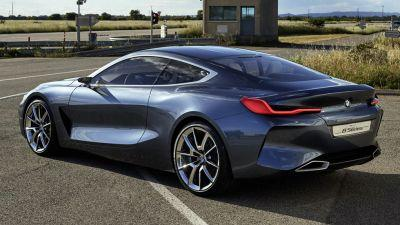 New BMW 8-Series Concept Revealed, Coming In 2018 To Fight S-Class Coupe