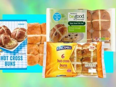 Where can I buy vegan hot cross buns?