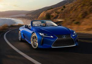 Lexus Debuts The LC 500 Convertible At 2019 LA Auto Show