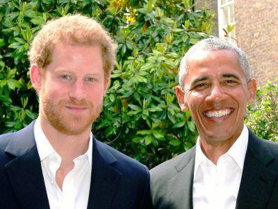 Prince Harry Hosted Obama At The Palace & The Internet Is Obsessed