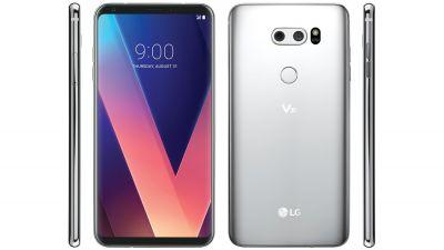 LG V30 leak shows a refined, almost bezel-free phone