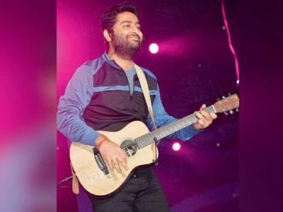 Arijit Singh enthralls Delhi NCR with live performance