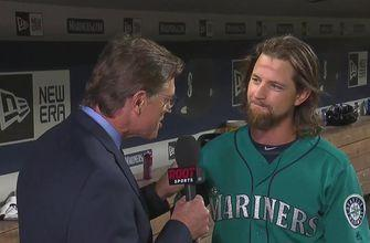 Mike Leake talks about what could have been after coming up just short of a perfect game