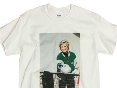 Maria Will Wear This Princess Diana T-Shirt While Rooting for the Eagles on Super Bowl Sunday