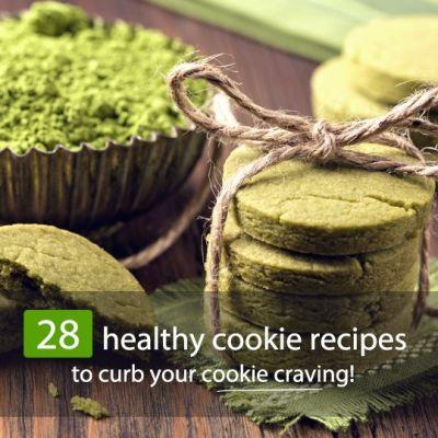 28 Healthy Cookie Recipes To Satisfy Your Craving!