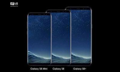 Galaxy S8 Mini reportedly in the works with a nifty new display