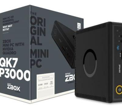 New Zotac ZBox Mini PCs Unveiled With NVIDIA Pascal Graphics