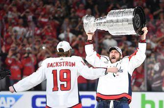 PHOTOS: Washington Capitals raise the Stanley Cup for first time in franchise history