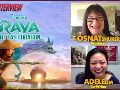 CS Video: Co-Writer Adele Lim & Producer Osnat Shurer Talk Raya and the Last Dragon