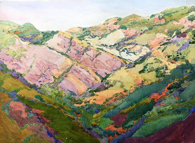 """Santa Monica Mountains"" Accepted into Southern California Inspirations .NWS Oceanside Museum of Art"