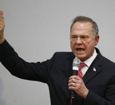 The Latest: Moore: McConnell trying to 'steal this election'