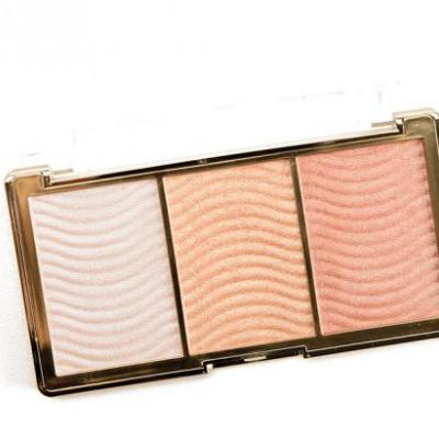 Milani Rose Glow Stellar Lights Highlighter Palette Review, Photos, Swatches