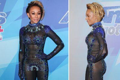 Mel B's barely there bodysuit and more star snaps