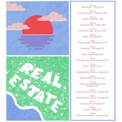 Real Estate announce 2019 North American tour