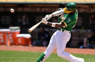 Oakland crushes six home runs in rout of Mariners