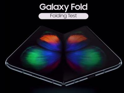 Samsung Galaxy Fold official video shows it's ready to bend, no crease in sight