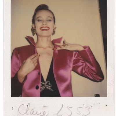 Fabulous Behind-the-Scenes Polaroids from the YSL Archives