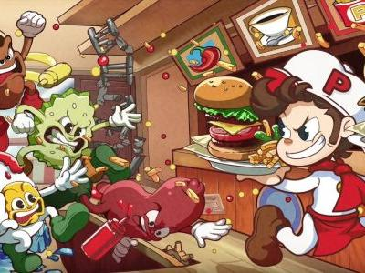 Toast your buns for BurgerTime Party! on Nintendo Switch