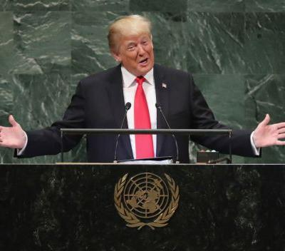 World leaders laugh as President Trump boasts of America's might at United Nations