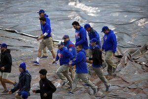 Nats-Cubs Game 4 rained out; Roark, not Strasburg, to start Wednesday