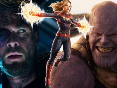 Video: What If Captain Marvel Was In Avengers: Infinity War