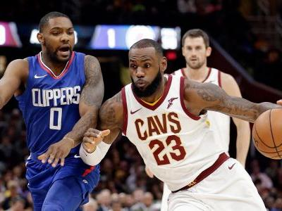 LeBron's 39-14-6 night leads Cavs to win against Clippers