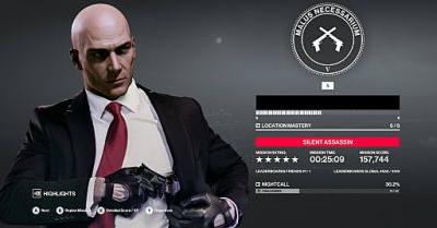 Hitman 2: 5-star Silent Assassin Guide
