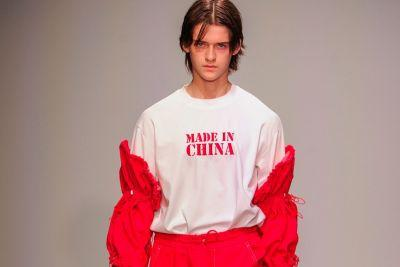 "Feng Chen Wang Dismisses the Negative Connotations Around ""Made in China"" for 2018 Spring/Summer"