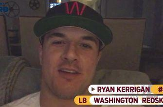 Redskins LB Ryan Kerrigan is prepping for his Week 6 game against the Panthers and watching TNF