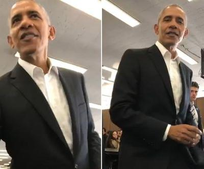 Obama gets dismissed from jury duty in Chicago