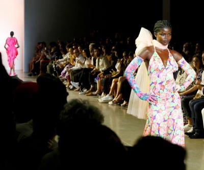 Christopher John Rogers Receives a Standing Ovation at His NYFW Runway Debut