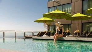 Dive into the Best Hotel Pool at Four Seasons Hotel Seattle