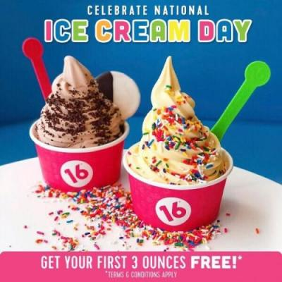 16 Handles Celebrates National Ice Cream Day with Free Soft Serve and a New Vegan Flavor