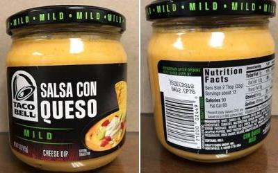 Kraft Heinz Co. recalls Taco Bell cheese sauce for botulism risk